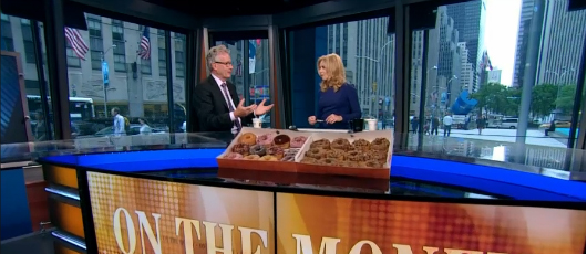 Video capture from CNBC interview with Nigel Travis, CEO of Dunkin Donuts; June 7th 2015